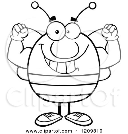 Royalty Free Bee Illustrations By Hit Toon Page 2