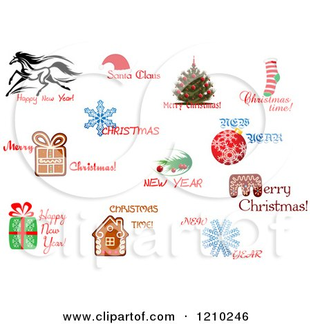 Royalty-Free (RF) Christmas Time Clipart, Illustrations, Vector ...