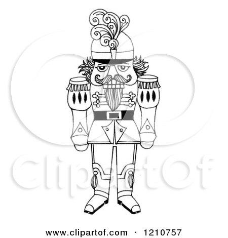 Royalty Free Rf Nutcracker Clipart Illustrations