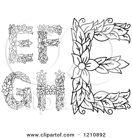 Royalty Free Rf Letter F Clipart Illustrations Vector Graphics 11