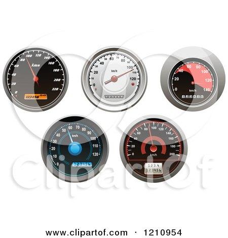 Vehicle Speedometers Posters, Art Prints
