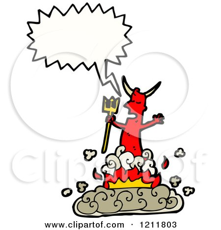 1211803-Cartoon-Of-The-Devil-Speaking-Royalty-Free-Vector-Illustration ...