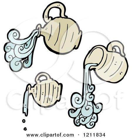 Royalty Free RF Water Jar Clipart Illustrations Vector