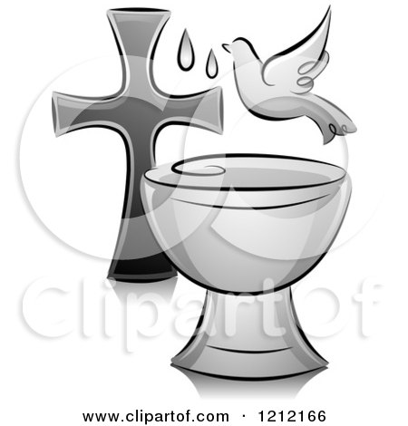 Royalty-Free (RF) Baptism Clipart, Illustrations, Vector Graphics #1