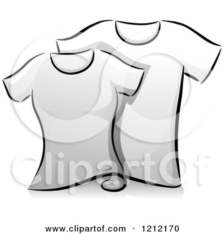 Royalty-Free (RF) T Shirt Clipart, Illustrations, Vector Graphics #1