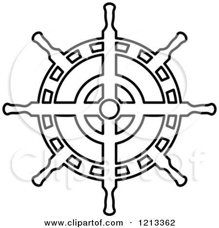 Royalty-Free (RF) Ships Wheel Clipart, Illustrations, Vector ...