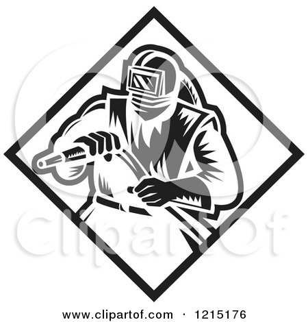 Royalty Free Rf Sand Blasting Clipart Illustrations