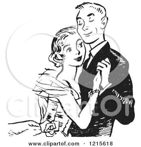Royalty-Free (RF) Prom Clipart, Illustrations, Vector Graphics #1