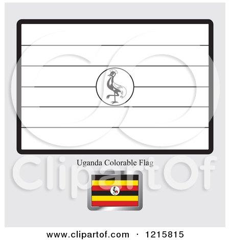 Ugandan Flag Coloring Page uganda flag Colouring ...