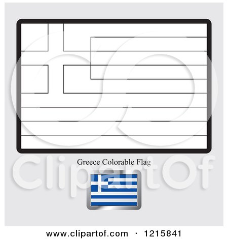 Royalty free stock illustrations of printable coloring for Greek flag coloring page