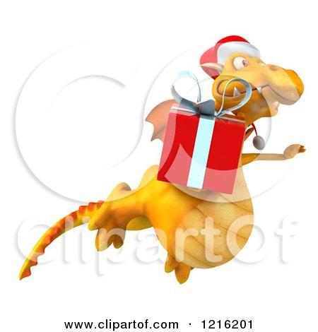0fe33088abf90 Royalty-Free (RF) Christmas Dragon Clipart