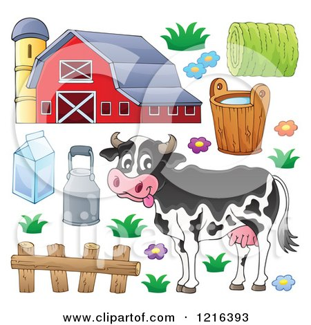 Dairy Barn Clipart