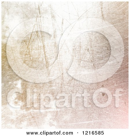 Clipart of a Gradient Pastel Scratched Texture - Royalty Free Illustration by KJ Pargeter