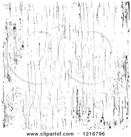 Clipart of a Black and White Wood Grain Texture Overlay - Royalty Free Vector Illustration by BestVector