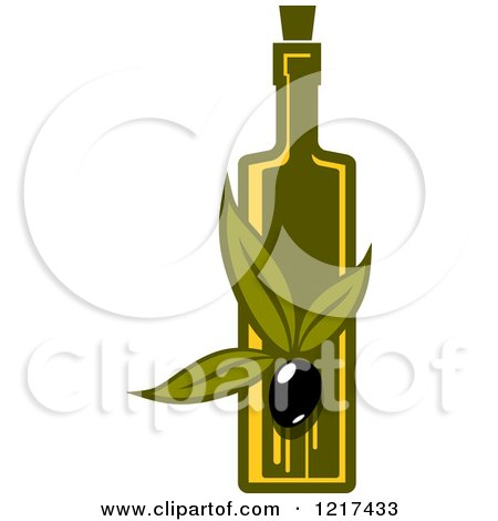 Royalty-Free (RF) Olive Oil Clipart, Illustrations, Vector Graphics #3