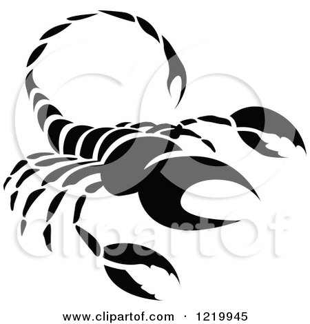 Royalty-Free (RF) Scorpio Sign Clipart, Illustrations, Vector ...