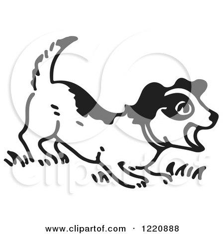 Royalty-Free (RF) Barking Dog Clipart, Illustrations ...