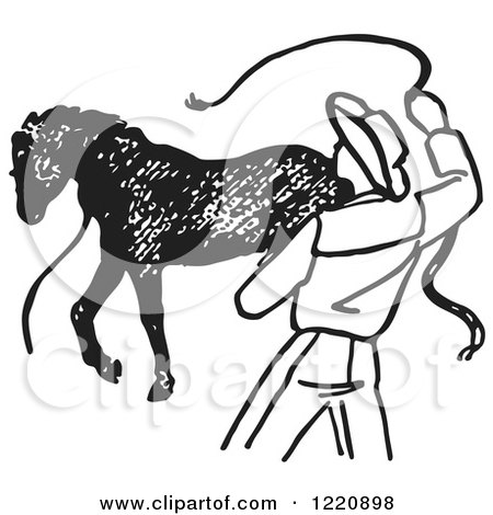 Royalty Free Stock Illustrations Of Horses By Picsburg Page 1