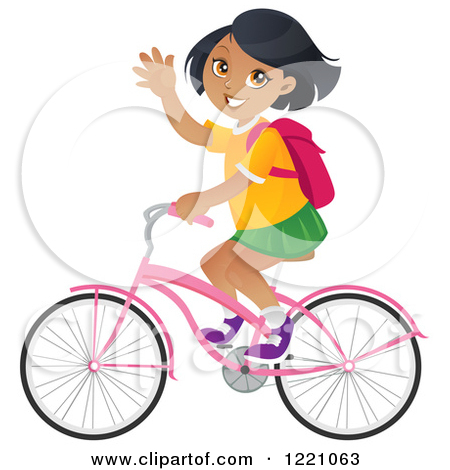 Download image Girl Riding Bike Cartoon PC, Android, iPhone and iPad ...