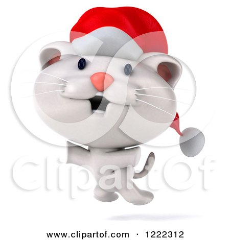 Royalty-Free (RF) Christmas Cat Clipart, Illustrations, Vector ...
