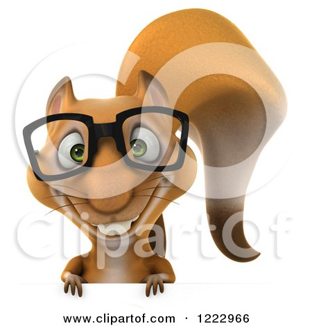 Squirrels with glasses - photo#10