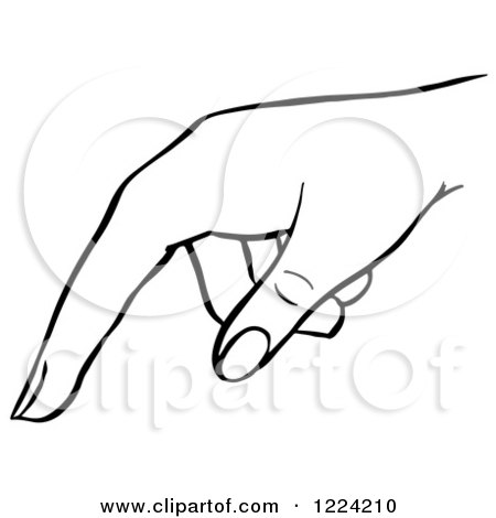 Royalty-Free (RF) Pointing Hand Clipart, Illustrations, Vector ...