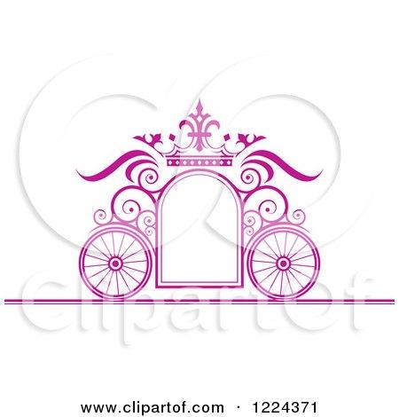 Purple Crown Clipart Clipart of a Purple Ornate