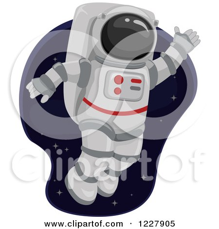 astronaut floating in space clipart - photo #38