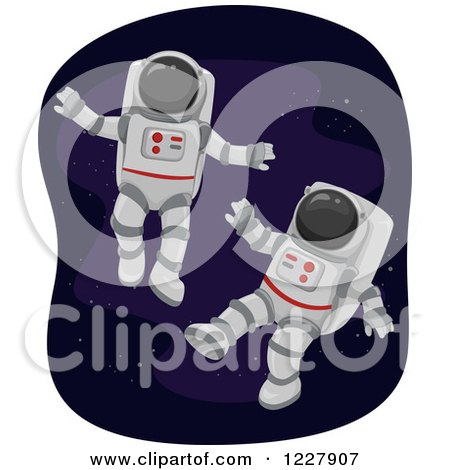 astronaut floating in space clipart - photo #9