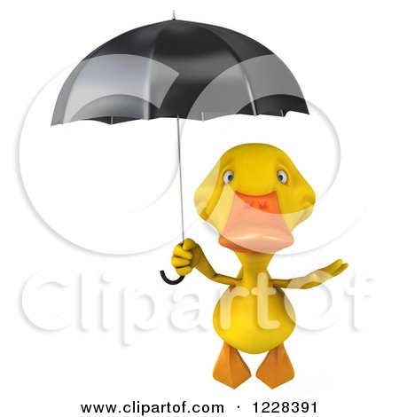 Royalty Free RF Flying Duck Clipart Illustrations