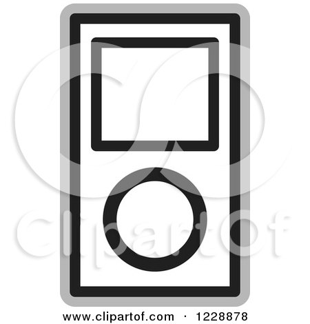 royalty free rf ipod clipart illustrations vector graphics 1 rh clipartof com ipad clipart ipod clip art black and white