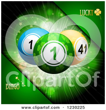 Clipart of a Brushed Metal Fruit Machine with Lottery Balls and ...