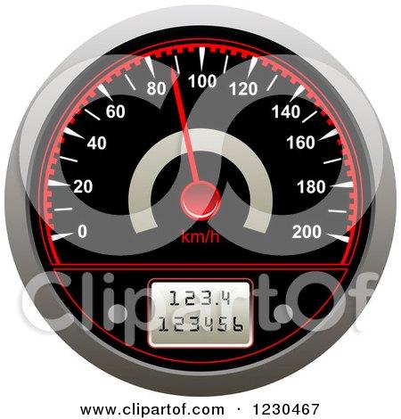 Vehicle Speedometer Posters, Art Prints
