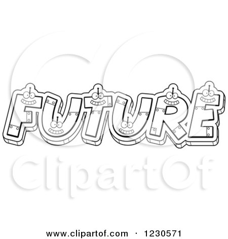 Robot Letters Forming The Word Metal Posters Art Prints