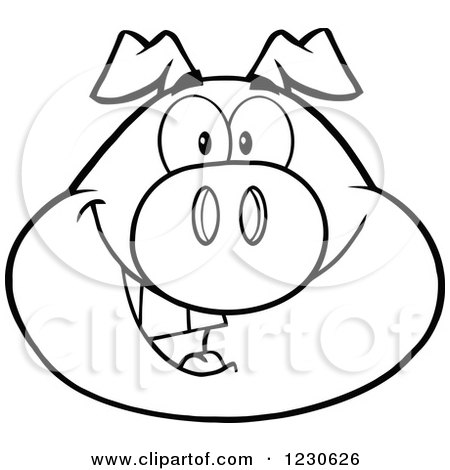 Royalty Free Stock Illustrations of Pigs by Hit Toon Page 2