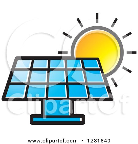 3d Photovoltaic Panels Collecting Solar Energy Posters