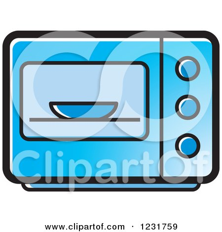 Royalty-Free (RF) Microwave Clipart, Illustrations, Vector Graphics #1