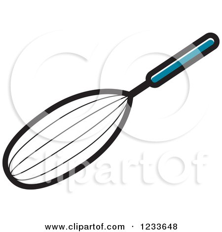 Clipart of a Whisk - Royalty Free Vector Illustration by Lal Perera