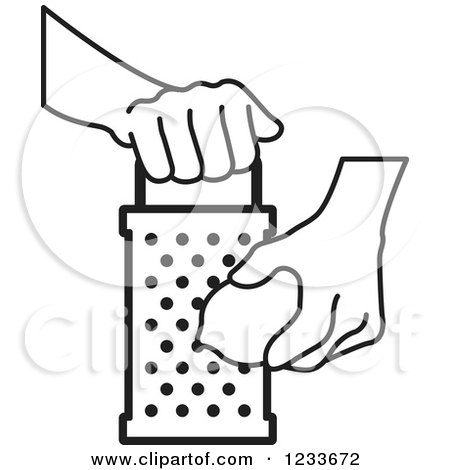 Clipart of a Happy Grater with Text - Royalty Free Vector ... Grate Cheese Clipart