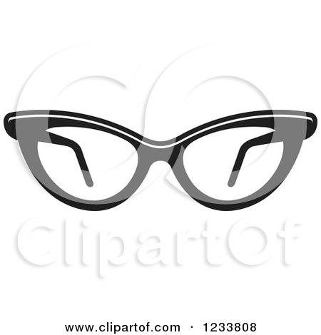 stylish eyeglasses zzlf  Pair Of Stylish Black And White Eyeglasses 2 by Lal Perera