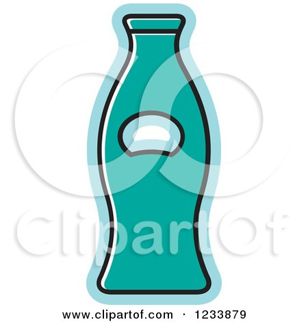 clipart of a black and white bottle opener 3 royalty free vector illustration by lal perera. Black Bedroom Furniture Sets. Home Design Ideas