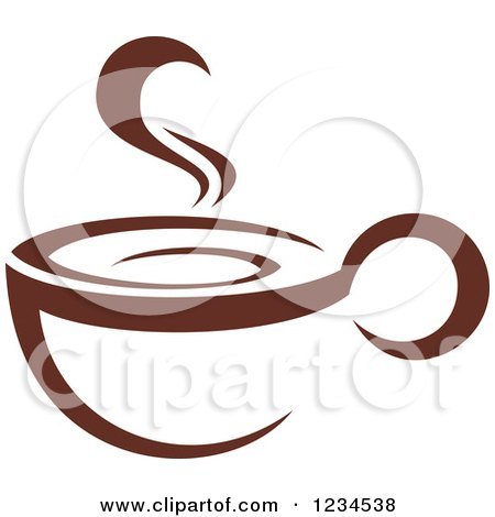 Steam coffee cup - 4637