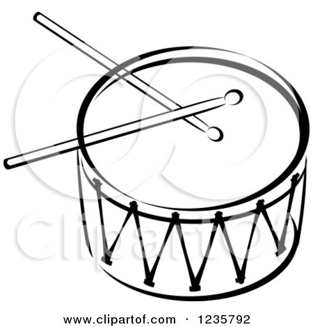 Black And White Drum A...