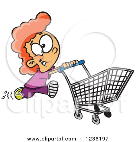 Royalty-Free (RF) Shopper Clipart, Illustrations, Vector Graphics #1
