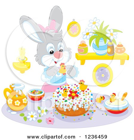 Cake Decor Clipart : Royalty-Free (RF) Clipart of Cakes, Illustrations, Vector Graphics #11