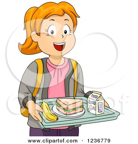 royalty free rf clip art illustration of a cartoon lunch lady rh clipartof com lunch tray clip art lunch tray clipart