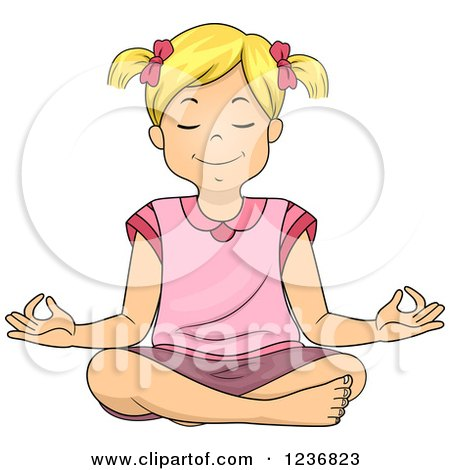 royaltyfree rf lotus pose clipart illustrations