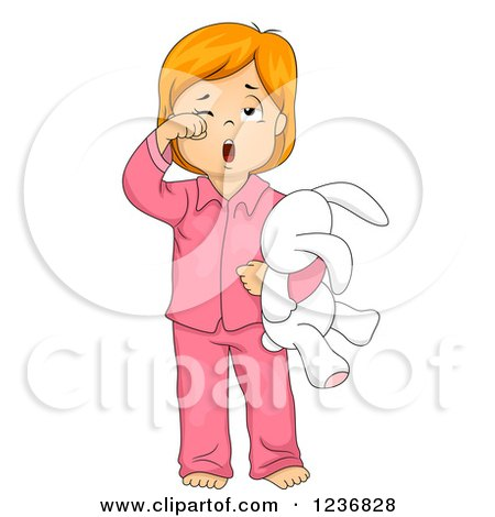 Preview Clipart Girl Yawn Clipart