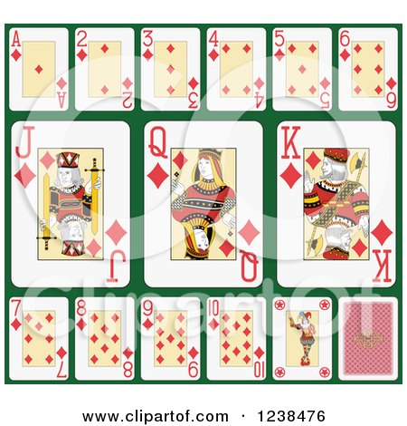 Royalty-Free (RF) Card Game Clipart, Illustrations, Vector Graphics #4