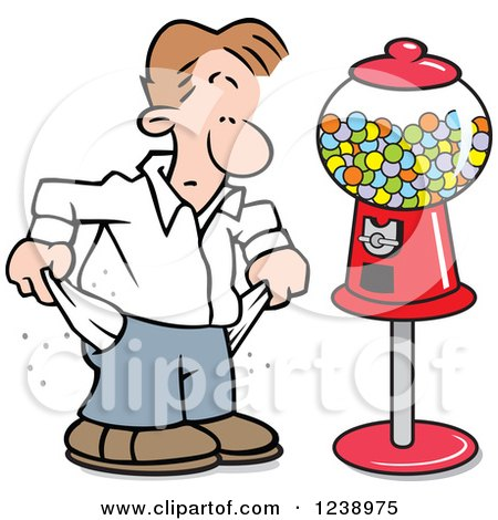 3d Ivory School Boy At A Gumball Machine Posters, Art Prints by ...